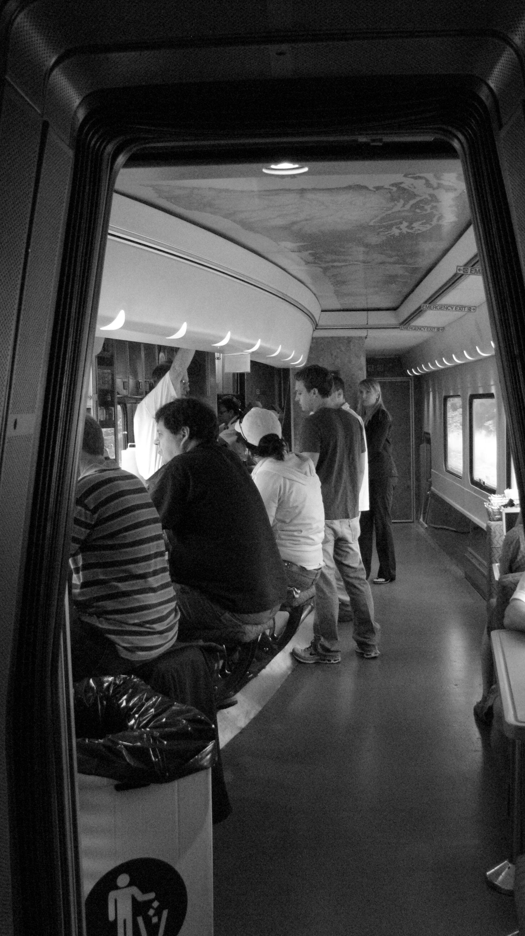 Coasting on the Cascade Train